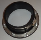 110mm Rubber Flange Connector